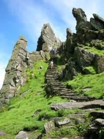 Stairs Kerry by Skellig Michael Steps Skellig Michael Island County