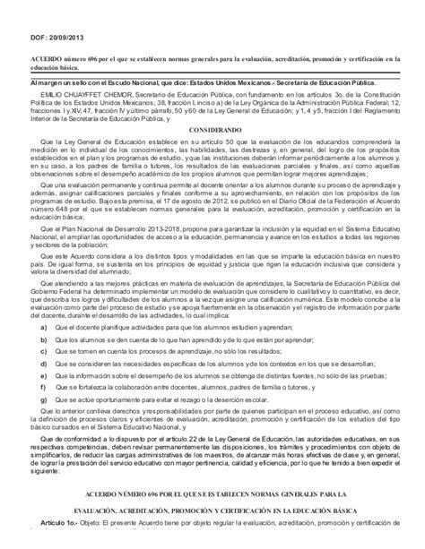 acuerdo nmero 020516 por el que se establecen los acuerdo n 250 mero 696 por el que se establecen normas