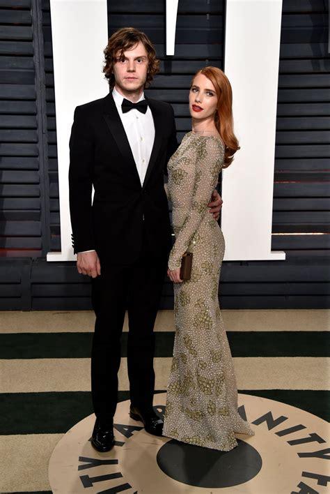 Evan Peters Vanity Fair Oscar 2016 And Evan Peters At Vanity Fair Oscar 2017