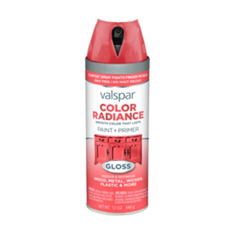 shop valspar color radiance flamenco pink indoor outdoor spray paint at lowes