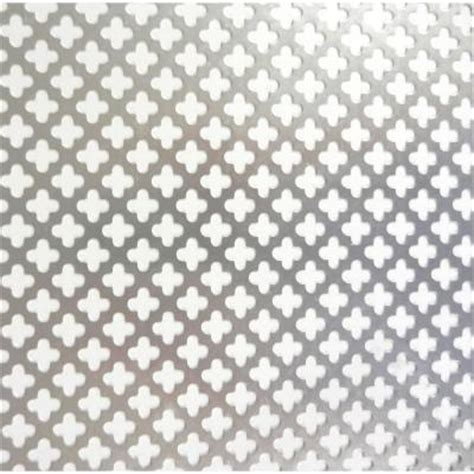 decorative metal sheets home depot md building products 36 in x 36 in cloverleaf aluminum