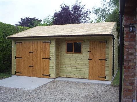 Garage L by Warwick Garages L Shaped Garage