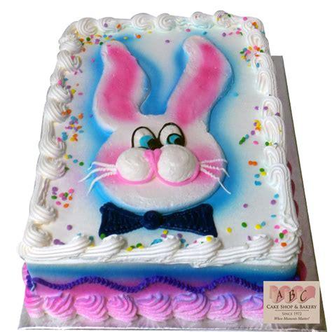 easter bunny sheet cake abc cake shop bakery