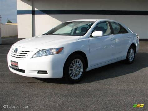 2008 toyota camry le 2008 white toyota camry le 20238539 gtcarlot