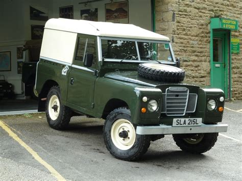 land rover series 3 early series iii land rover arrives from the cotswolds