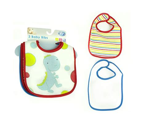 Baby Bibs 3 baby bib pack of 3 cotton bibs for feeding time steps