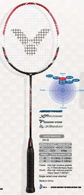 Raket Victor Waves 35 victor waves 35 racquet x your local genuine racquet sports reseller