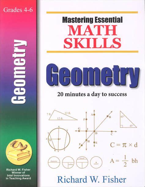 mastering essential math skills geometry 026684 details rainbow resource center inc