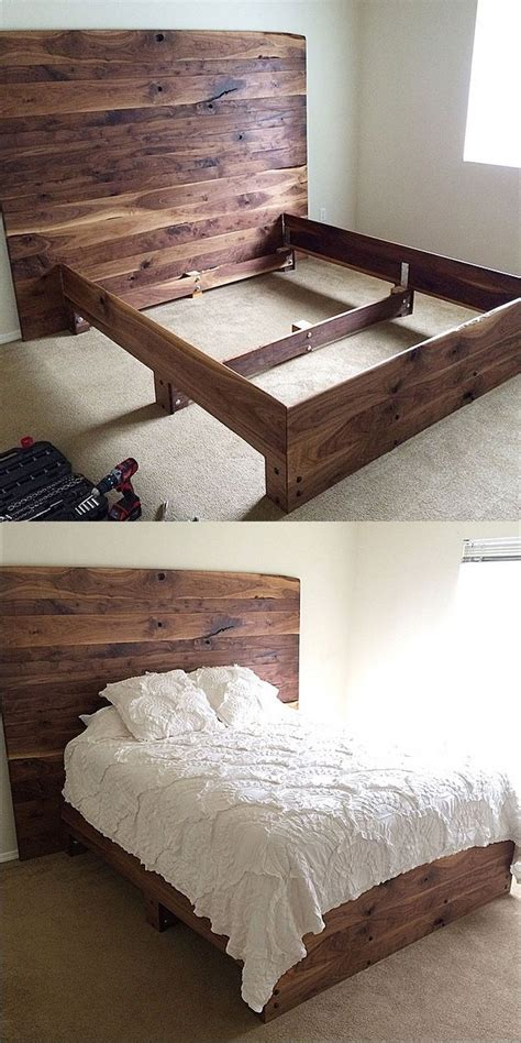 homemade bed frame ideas 25 best ideas about diy platform bed on pinterest diy