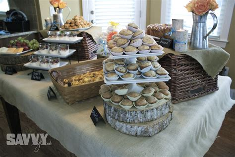 food ideas for wedding showers rustic bridal shower brunch savvy style