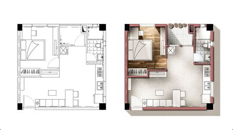 Architect Plan by Architecture Plan Render By Photoshop