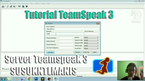 teamspeak 3 docker tutorial tutorial cara pakai teamspeak 3 server clan