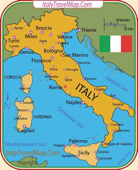 Italy Map by 1000 Ideas About Map Of Italy Regions On Pinterest