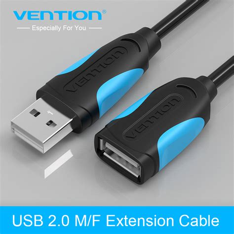 Gratis Ongkir Usb 3 0 To Extension Cable 3m vention usb2 0 extension cable to usb cable extend usb extension cable 1m 1 5m 2m 3m
