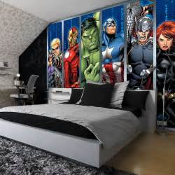 marvel wall mural best 25 bedroom ideas on