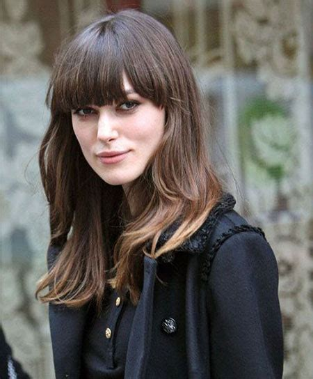 long layers with bangs hairstyles for 2015 for regular people 15 modern medium length haircuts with bangs layers for