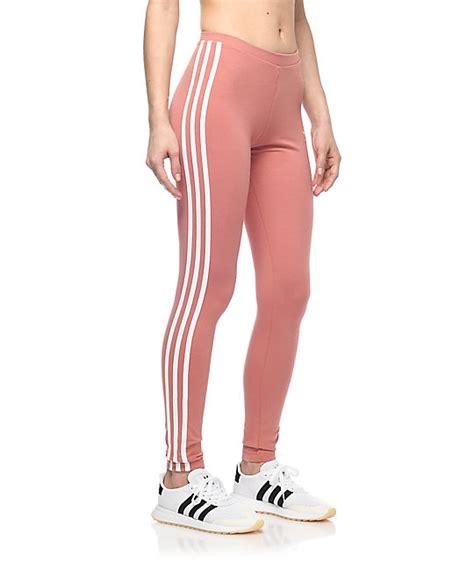 Legging Winter Stripe 3 7 adidas 3 stripe mauve zumiez