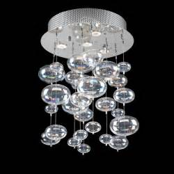 Glass Chandelier Lighting Glass Chandelier Pendant Ceiling Light With Rainbow