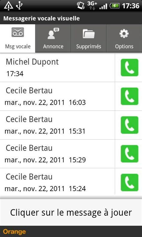 voicemail app android messagerie vocale visuelle android apps on play
