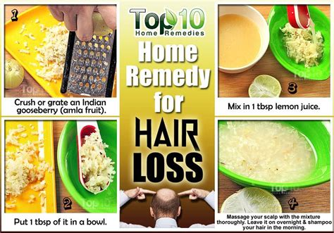 8 Best Home Made Treatments by Home Remedies For Hair Loss Top 10 Home Remedies
