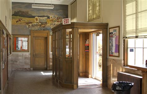 entry vestibule file crawford nebraska post office entry vestibule jpg