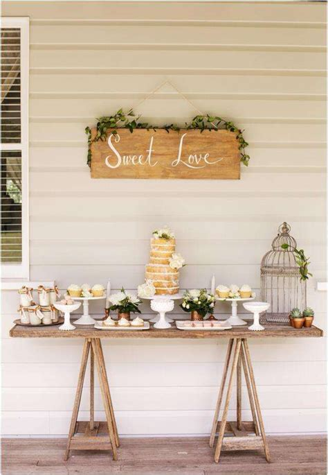 Rustic Dessert Table by 25 Best Ideas About Rustic Dessert Tables On