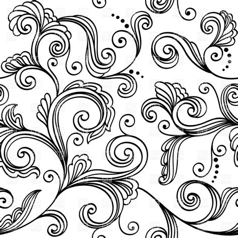 pattern floral black and white simplistic black and white floral pattern seamless