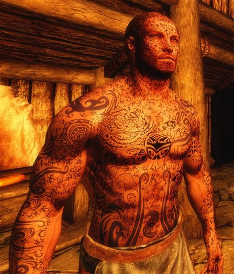 full body tattoo skyrim skyrim the elder scrolls i can t believe it s you