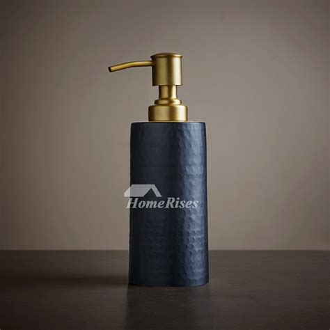luxury bathroom soap dispensers vintage gold black bathroom liquid soap dispenser luxury