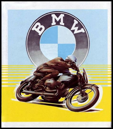 Motorrad Bmw Vintage by Vintage Bmw Motorcycle Advertising Pinteres