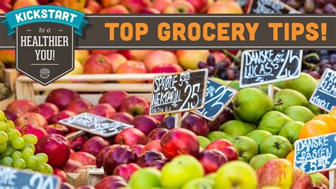 healthy grocery shopping tips   budget mind  munch