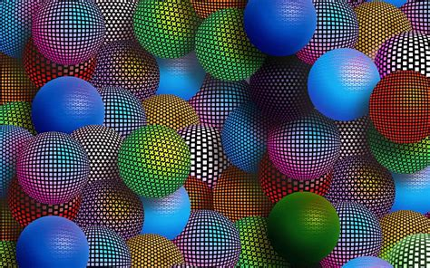 colored balls hd   abstract wallpapers  mobile