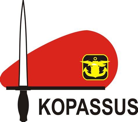 Kaos Polisi L lambang baret kopassus kostrad dan polisi militer