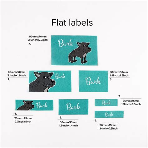 Fabric Labels For Handmade Items Uk - personalised fabric labels design your custom fabric