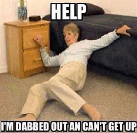 Dab Meme - help i m dabbed out an can t get up