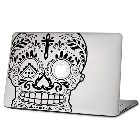 Aufkleber Entfernen Dm by The Cross Sugar Skull Laptop Macbook Sticker Aufkleber