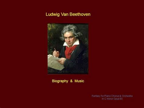 biography of beethoven ppt 99657 beethoven biography music by avm authorstream