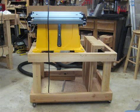 Table Saw Cart by Planning A New Table Saw Cart 187 Ben S Workshop