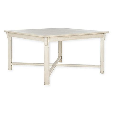 Washed Wood Dining Table Buy Safavieh Bleeker Wood Dining Table In White Washed From Bed Bath Beyond