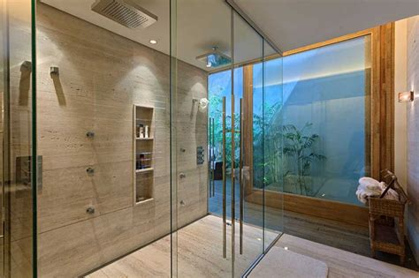 built in shower 12 design ideas for including built in shelving in your