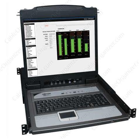 console kvm tripp lite b020 u08 19 k netdirector series kvm console