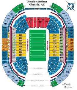 of arizona stadium map arizona football cardinals nfl cardinals report stadium