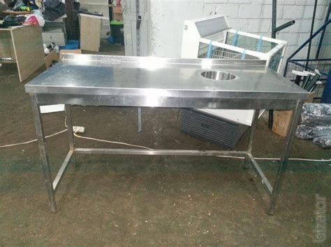 stainless steel tables used buy on www bizator