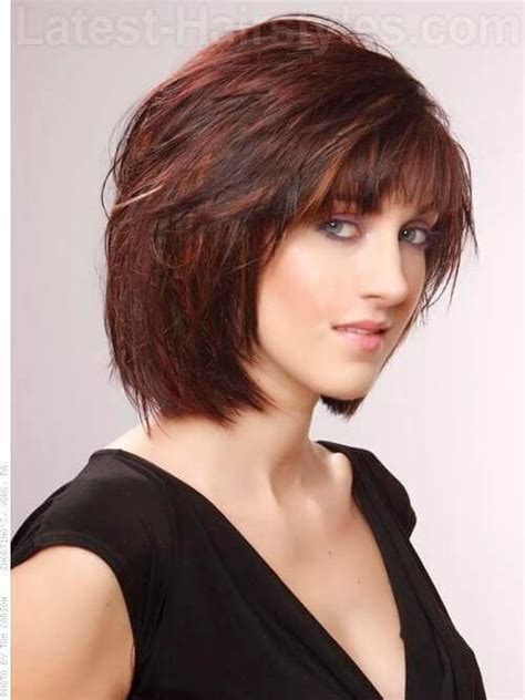 chin length layered hairstyles 2015 over 50 image gallery neck length layered hairstyles