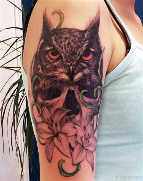 black owl tattoo bird tattoos designs pictures page 43