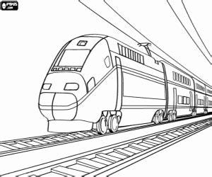 kleurplaten treinen kleurplaat