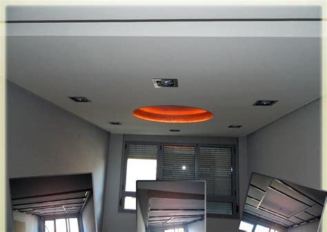 decoracion techos pladur foto falso techo de pladur con cupula empapelada y tiras