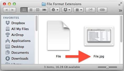 file format apple video cara tilkan nama file extensions di mac os x insightmac