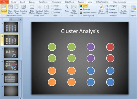 movie themes for powerpoint 2010 how to make a simple cluster analysis diagram in