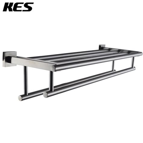 Pull Out Kitchen Faucet Reviews kes stainless steel bath towel rack bathroom shelf with